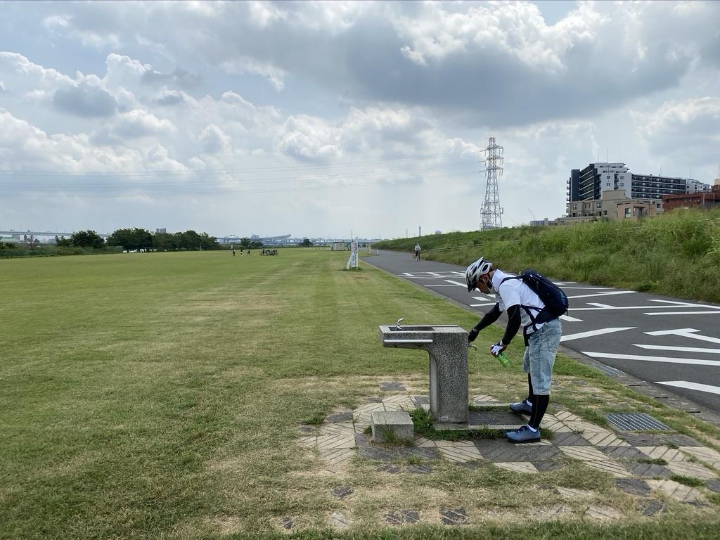 荒川サイクリングロード・小松川運動公園